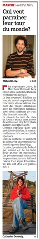 Article paru dans la Meuse Luxembourg le 04 février 2010